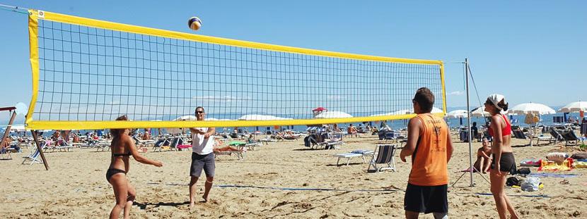 volleybal beach event