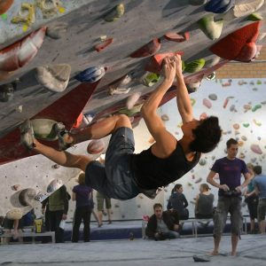 Active workshops, such as indoor rock climbing, dancing, segway and yoga
